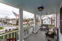 Lovely views of neighborhood from your perch - 900 N FREDERICK ST, ARLINGTON