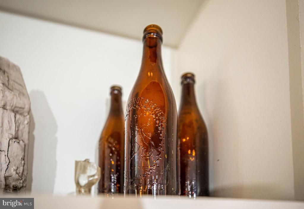 Old beer bottles found on property. - 1112 CHARLES ST, FREDERICKSBURG