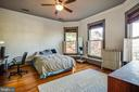 Ample room in bedroom number two - 1112 CHARLES ST, FREDERICKSBURG