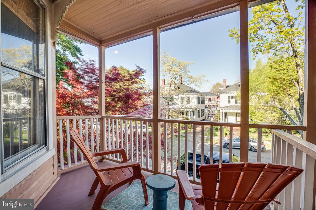 Relax on the upper porch - 1112 CHARLES ST, FREDERICKSBURG
