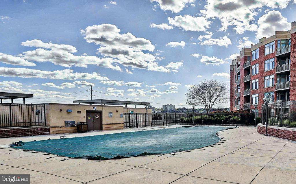 Pool - 3650 S GLEBE RD #651, ARLINGTON