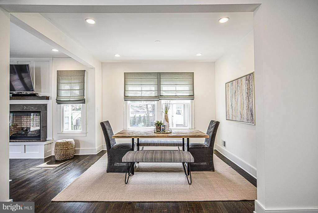 Perfect for dinner parties! - 231 N EDGEWOOD ST, ARLINGTON