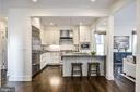 Gourmet Kitchen with high end stainless appliances - 231 N EDGEWOOD ST, ARLINGTON