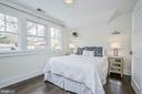 2nd bedroom with wall of windows - 231 N EDGEWOOD ST, ARLINGTON