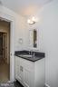 Full bath on lower level - 231 N EDGEWOOD ST, ARLINGTON