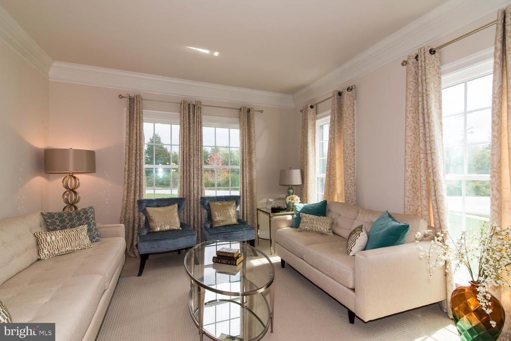 Living Room - 14416 CHELSEA GARDEN CT, LAUREL