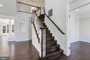 Hardwood flooring throughout home - 43965 RIVERPOINT DR, LEESBURG