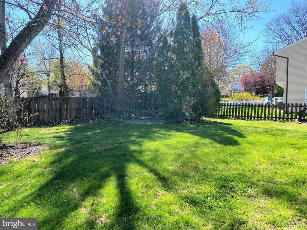 Fabulous fenced yard - 12803 SCRANTON CT, HERNDON