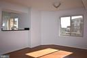 Dining Rm with wood floors, open to LR and Kitchen - 2151 JAMIESON AVE #1903, ALEXANDRIA