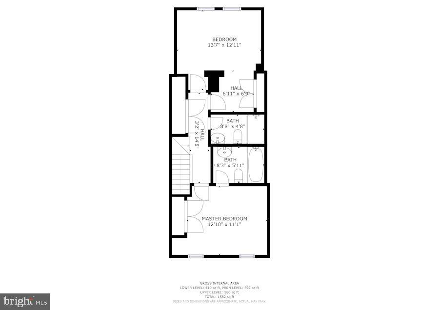 Second Floor - 618 EVARTS ST NE, WASHINGTON