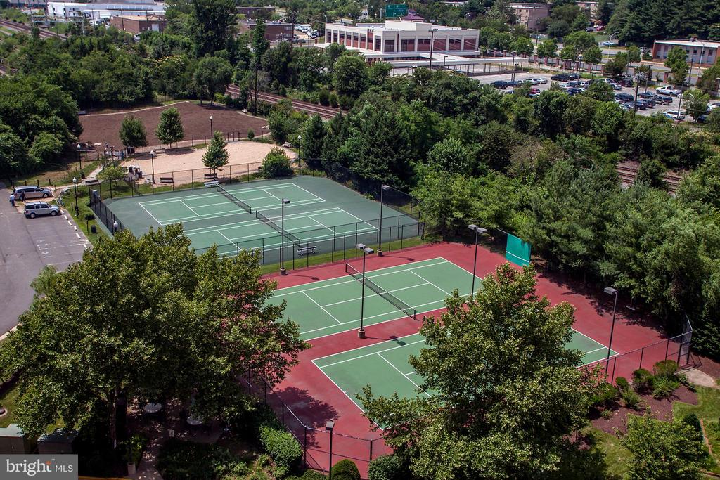Private tennis courts, City tennis and Dog Park - 2151 JAMIESON AVE #1903, ALEXANDRIA