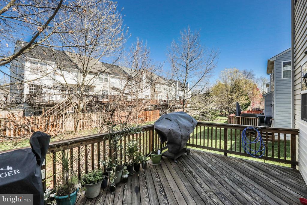 Deck View! - 9648 SAYBROOKE DR, BRISTOW