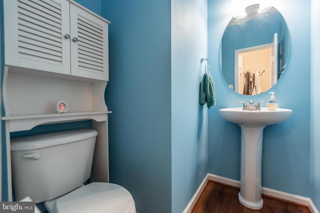 Half Bath on Main Level! - 9648 SAYBROOKE DR, BRISTOW