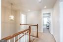 Upstairs Hallway! - 9648 SAYBROOKE DR, BRISTOW