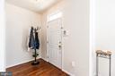 Foyer with Hardwood Flooring! - 9648 SAYBROOKE DR, BRISTOW