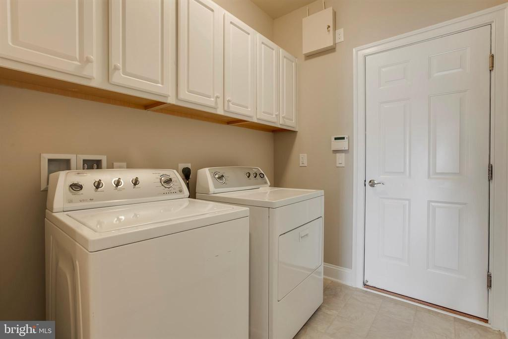 Laundry Room w/More Storage - 26 DENISON ST, FREDERICKSBURG