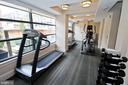 Gym-weight room leading to roofdeck 1 - 1830 JEFFERSON PL NW #8, WASHINGTON