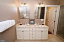Master en-suite bathroom - 1830 JEFFERSON PL NW #8, WASHINGTON
