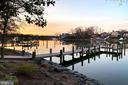 Sunrise at the pier - 1696 BEECH LN, ANNAPOLIS