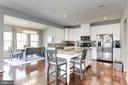 Spacious Gourmet Kitchen - 2308 SWEET PEPPERBRUSH LOOP, DUMFRIES