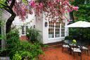 Exterior - Back Terrace Dining - 3017 P ST NW, WASHINGTON