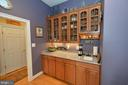 Amazing butlers pantry with wet bar - 40319 CHARLES TOWN PIKE, HAMILTON