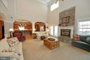 Stunning two story great room with gas fireplace - 40319 CHARLES TOWN PIKE, HAMILTON