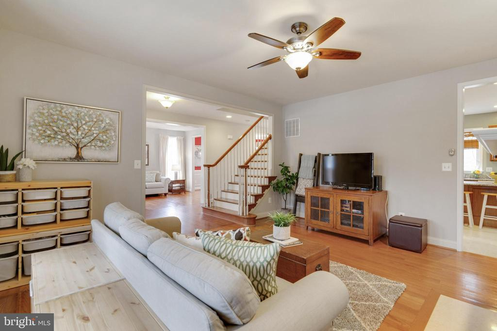 Family Room - 6125 OLENDER PARK CT, MANASSAS
