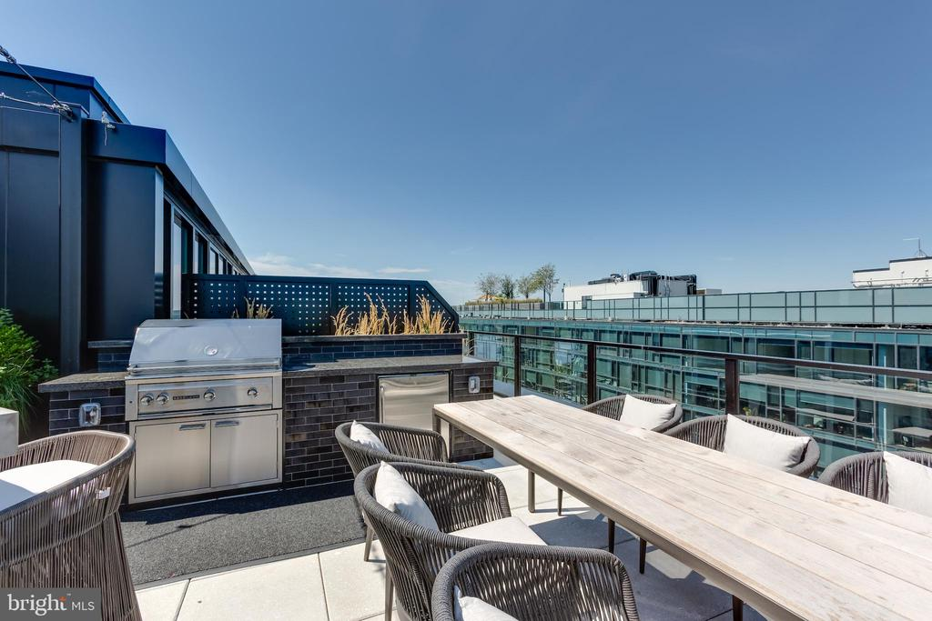 Rooftop Residence Grill and Dining. - 1300 4TH ST SE #808, WASHINGTON