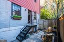Steps to back entrance - 1813 16TH ST NW #1B, WASHINGTON