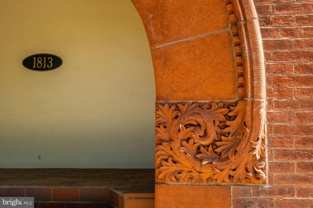 Elegant architectural details - 1813 16TH ST NW #1B, WASHINGTON
