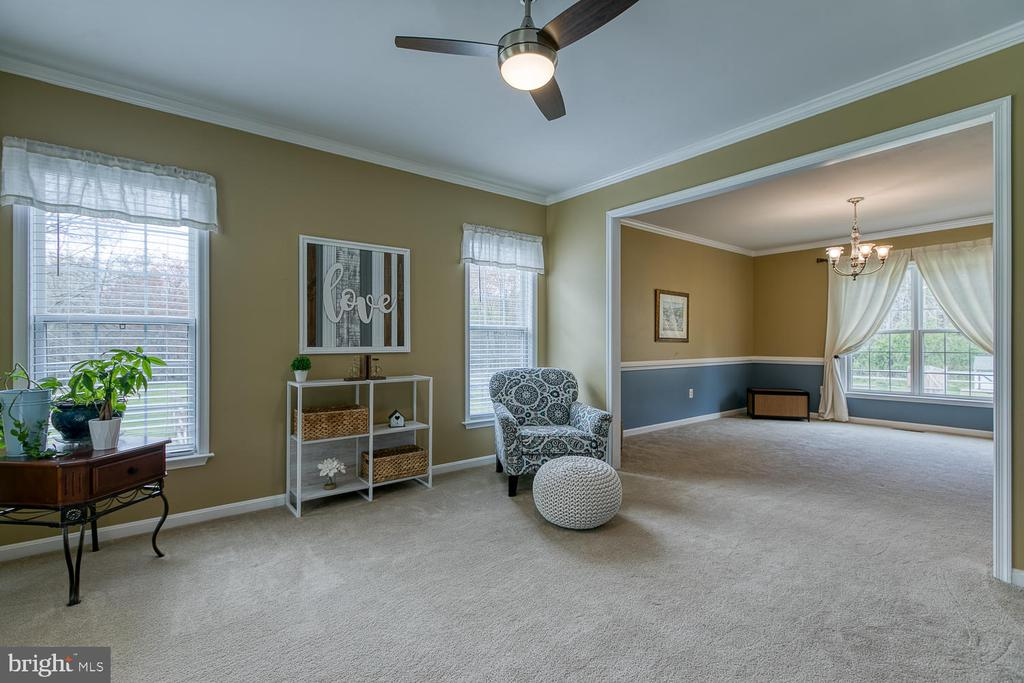 Dining /Living room combination - 149 SUMMER BREEZE LN, FREDERICKSBURG