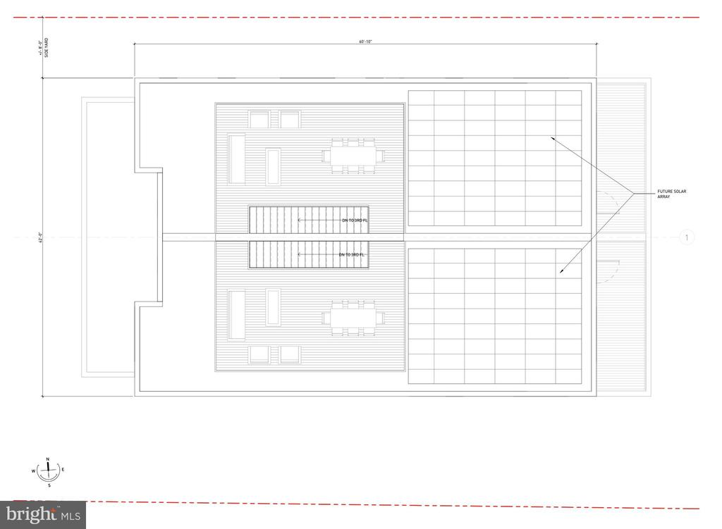 Roof Top Proposed Layout - 1201 N VERNON ST, ARLINGTON