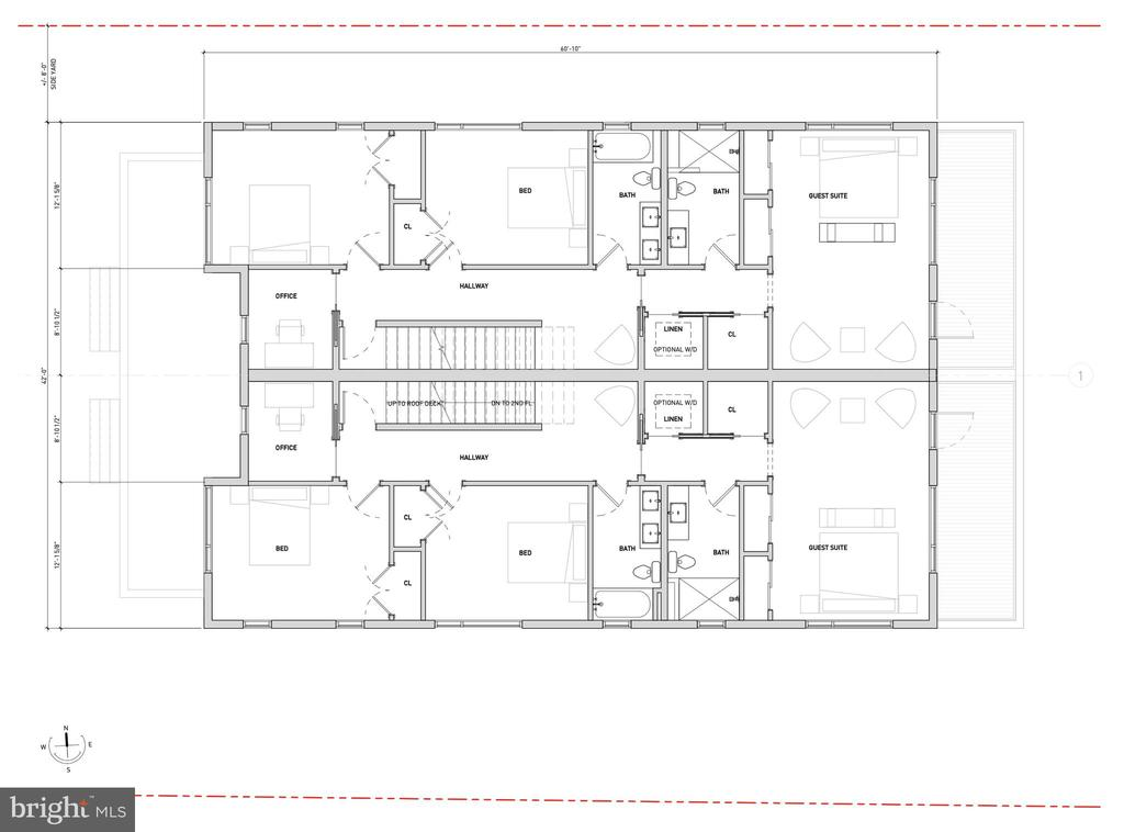 3rd Floor Proposed Layout - 1201 N VERNON ST, ARLINGTON