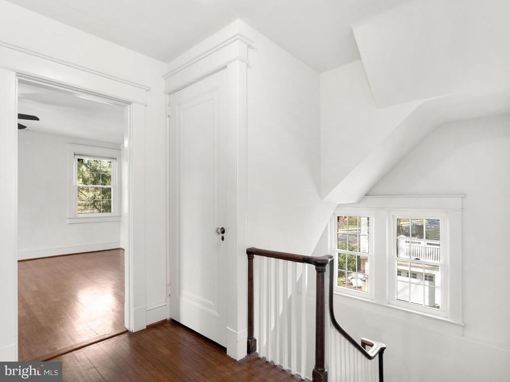 Upper Level Hallway - 4207 STANFORD ST, CHEVY CHASE