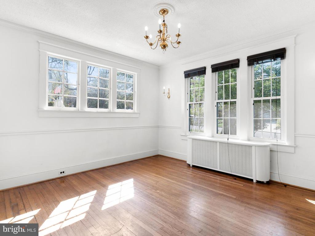 Dining Room - 4207 STANFORD ST, CHEVY CHASE