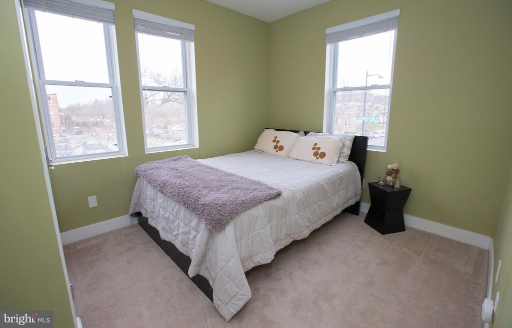 Bedroom/Queen Bed. - 2 17TH ST SE #202, WASHINGTON