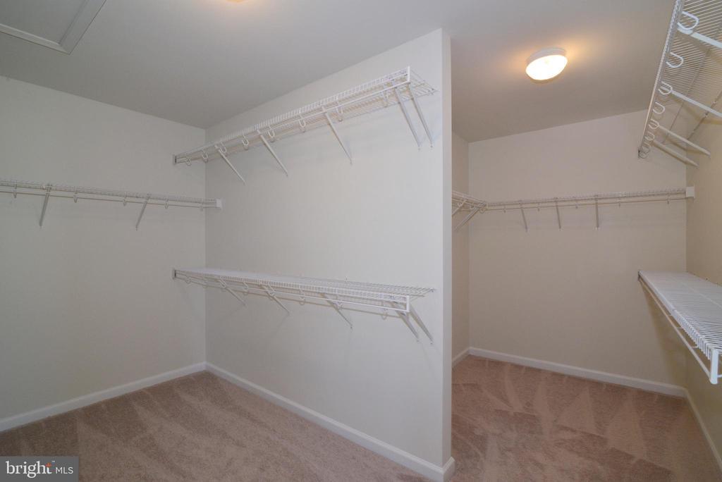 Master Bedroom Closet - 14042 BLUE VIEW CT, LEESBURG