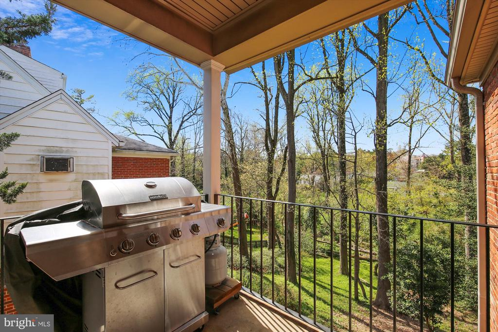 Covered Side  Porch for BB - 4833 BROAD BROOK DR, BETHESDA
