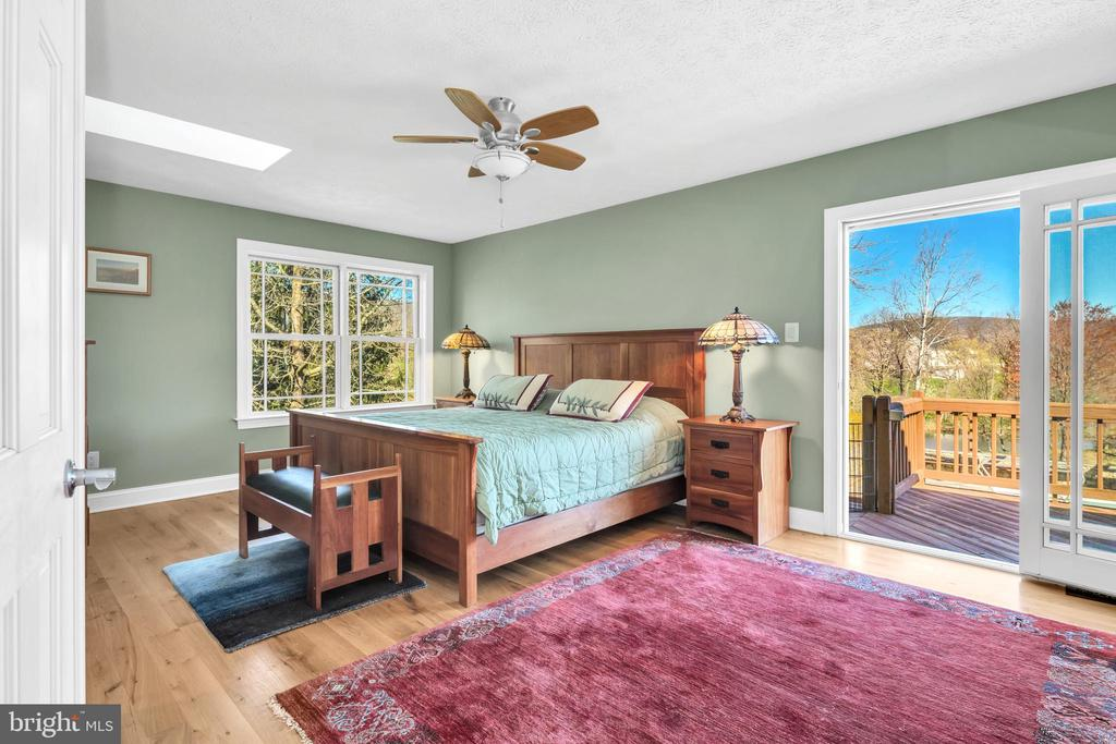 Private owners suite with views of the Blue Ridge - 34332 BRIDGESTONE LN, BLUEMONT