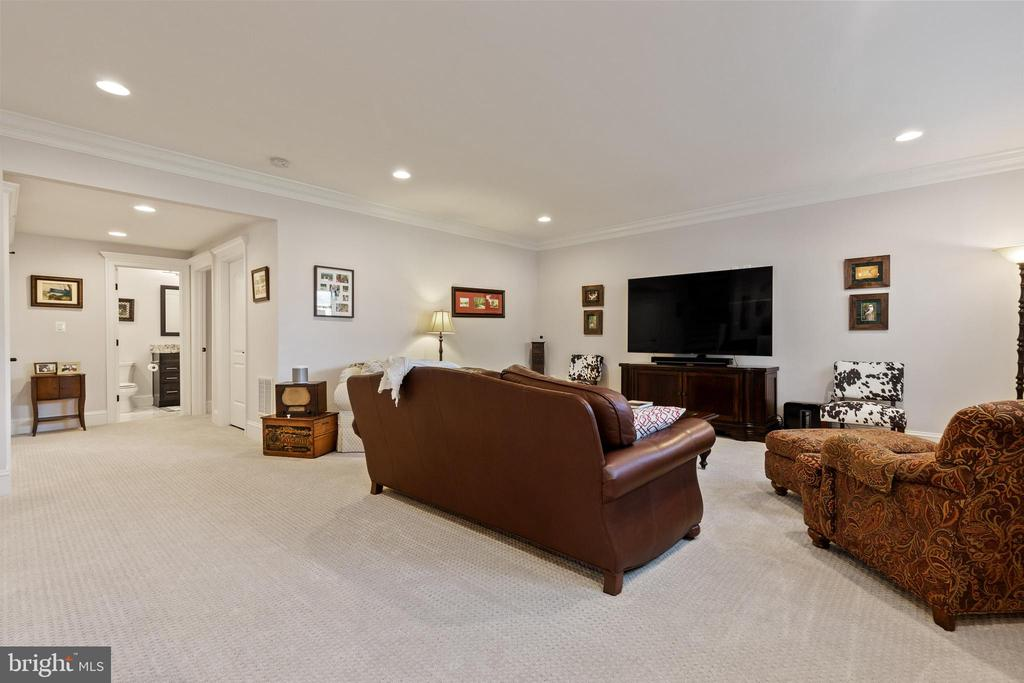 Large Entertaining Space in Basement - 918 NINOVAN RD SE, VIENNA