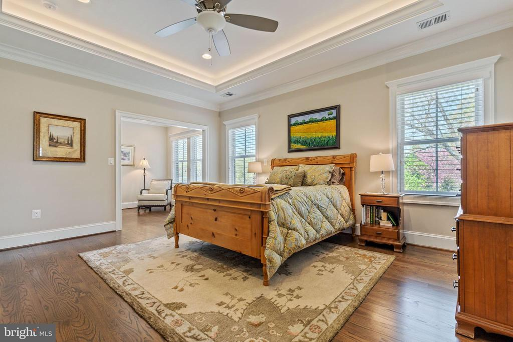 Spacious Master Bedroom - 918 NINOVAN RD SE, VIENNA