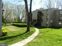 Back of the Building Courtyard - 136 DUVALL LN #304, GAITHERSBURG