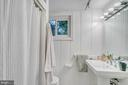 Lower level has full bathroom - 7007 CONNECTICUT AVE, CHEVY CHASE