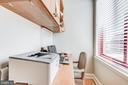 Desk nook off kitchen - 1205 N GARFIELD ST #804, ARLINGTON