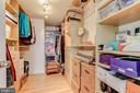 Master bedroom walk-in closet - 1205 N GARFIELD ST #804, ARLINGTON