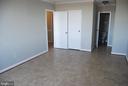 Master Bedroom with Walk In Closet & Full Bath - 5500 HOLMES RUN PKWY #1517, ALEXANDRIA