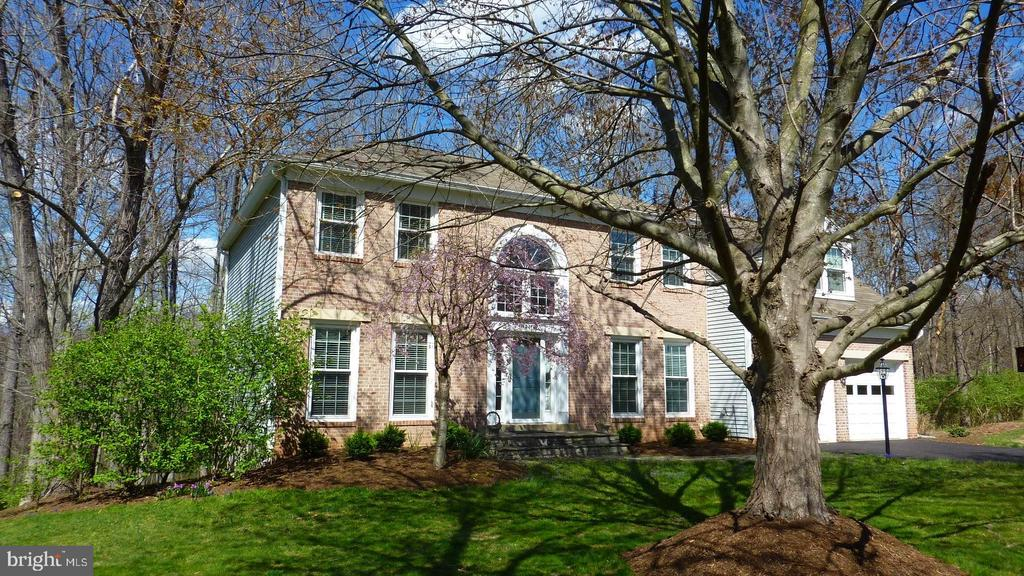 Beautiful trees and plantings - 12216 HEATHER WAY, HERNDON