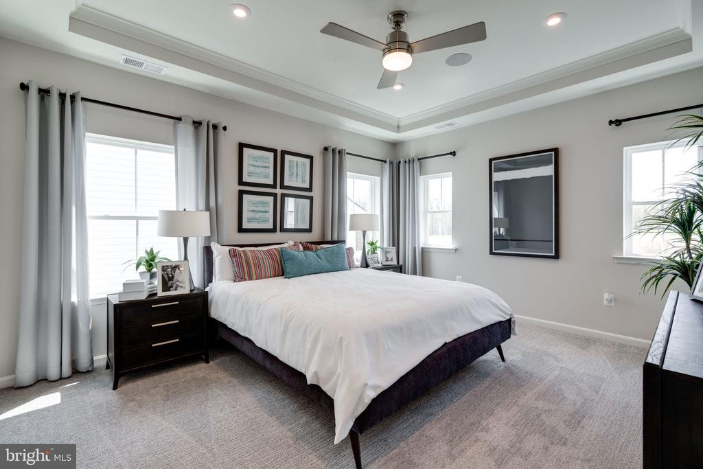 Model Home- Master Bedroom - EMBREY MILL ROAD- HOPEWELL, STAFFORD