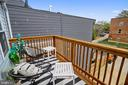 Balcony - 1627 MONTELLO AVE NE, WASHINGTON